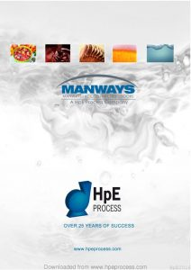 thumbnail of Manways and Tank Equipment Brochure W0617
