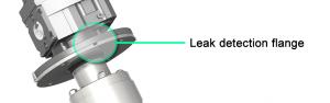 Mixer Leak Detection Flange