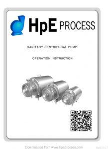 thumbnail of HPE Versaline VCP Pump