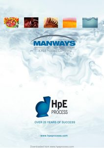 thumbnail of Manways and Tank Equipment Brochure W1017