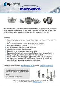 thumbnail of HpE Process Manways & Tank Equipment