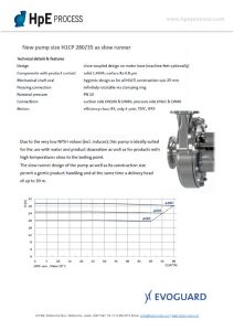 thumbnail of Evoguard New Pump size H1CP 280 35 as slow runner P