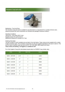 thumbnail of 3 way ball valve datasheet